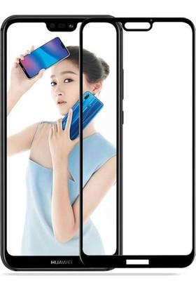 BlitzPower Huawei P20 Lite 6D Tam Kaplayan Nano Glass Ekran Koruyucu