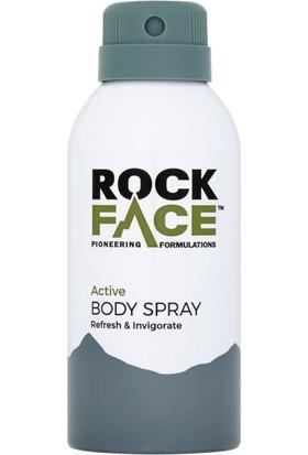 Rock Face Active Deodorant - Active Body Spray 150ml
