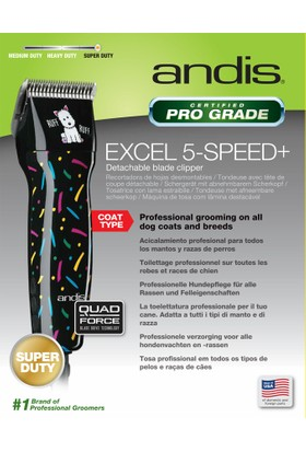 Andis Excel 5-Devir Köpek Tıraş Makinası