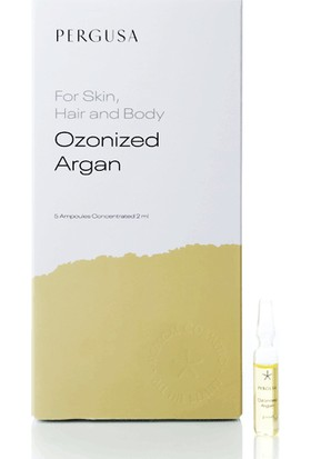Pergusa Ozonized Argan Ampul - 5 Adet 2 ml