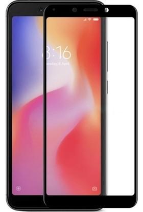 Cayka Xiaomi Redmi 6/6A 5D Tam Kaplayan Cam Ekran Koruyucu
