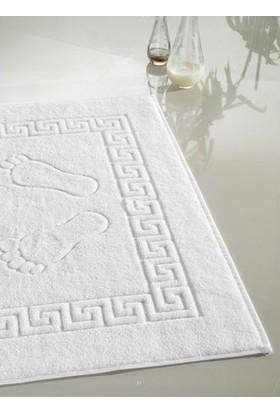 Çetin Home Ayak Havlusu 1 Adet Beyaz 50 x 70 cm 240 gr