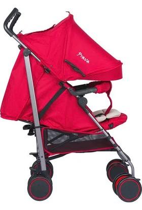 Prava Rubby P09 Alüminyum Baston Bebek Arabası Kırmızı