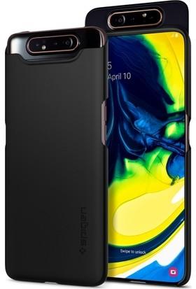 Spigen Samsung Galaxy A80 Kılıf Thin Fit Black - 621CS26417
