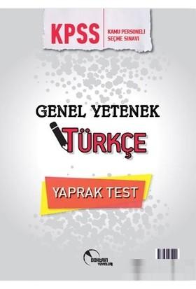 Doktrin Yayınları Türkçe Yaprak Test