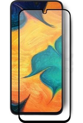 Cayka Samsung Galaxy A30 Tam Kaplayan 5D Ekran Koruyucu Cam