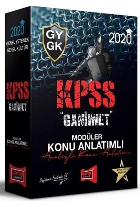 Yargı Yayınları 2020 Kpss Genel Yetenek Genel Kültür Ganimet Konu Anlatımlı Modüler Set