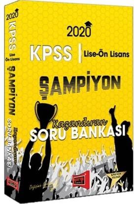 Yargı Yayınları 2020 Kpss Lise-Ön Lisans Gy-Gk Şampiyon Kazandıran Soru Bankası