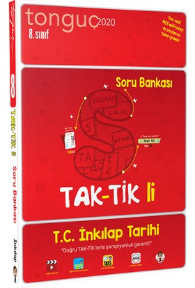 Tonguç Akademi 8. Sınıf T.C. İnkılap Tarihi ve Atatürkçülük Taktikli Soru Bankası