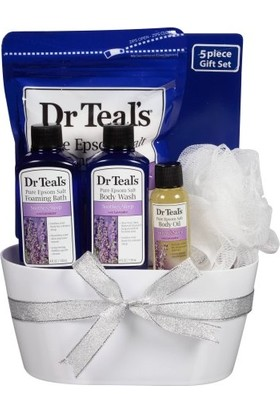Dr. Teals Lavantalı Rahatlatıcı Banyo Küvetli Seti