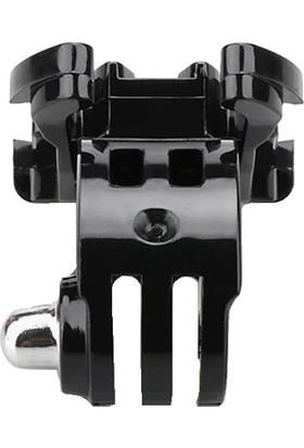 KingMa GoPro Uyumlu J-Hook Açılı Bağlantı Aparatı