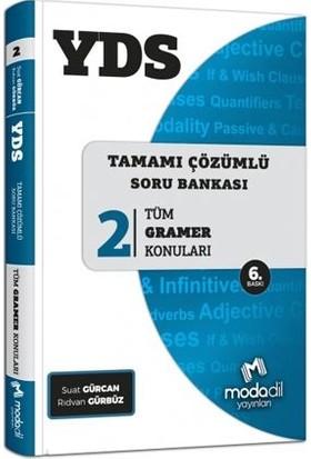 Modadil YDS Tamamı Çözümlü Soru Bankası Serisi 2 - Suat Gürcan