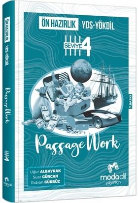 Modadil YDS- Yökdil Passage Work Ön Hazırlık Seviye 4 - Suat Gürcan