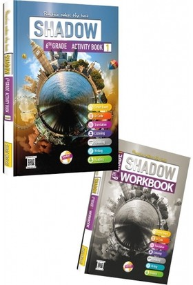 Smart English Shadow Activity Book 6-1 - Fuat Başkan