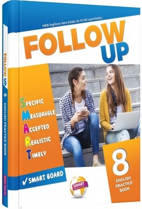 Smart English Follow Up 8 Englısh Practıce Book - Davut Doğan
