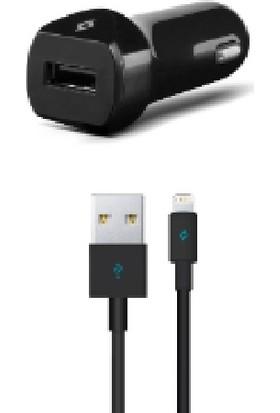 TTec Speedcharger 2.1A Araç Hızlı Şarj Aleti + Lightning Kablo