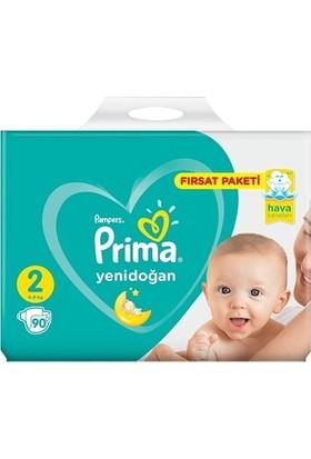 Prima Yenidoğan 2 Numara 90 Adet Fırsat Paketi