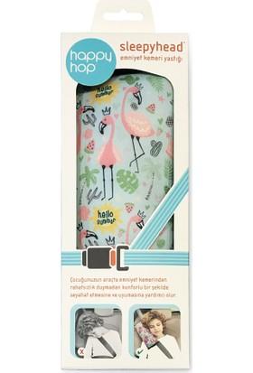 Happy Hop Sleepyhead Emniyet Kemeri Yastığı - Flamingo
