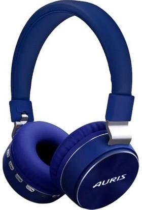 Auris Bluetooth Kulaküstü Kulaklık - Mavi