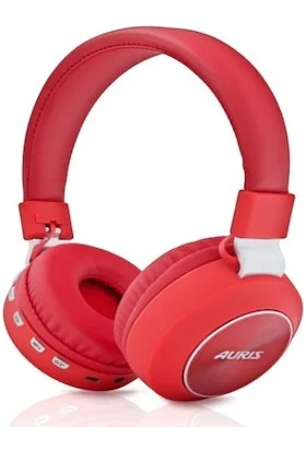 Auris Bluetooth Kulaküstü Kulaklık - Kırmızı