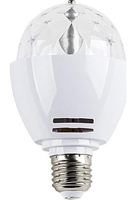 Cata 3W Power LED-RGB-360 Disko Ampul E27 Duylu-Led Par Işık Robotu CT-4061