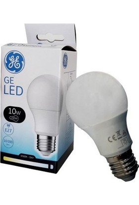 General Electric 10W LED Ampul E27 Duylu 6500K Beyaz Işık 850 Lümen 6'lı