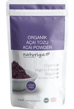 Naturiga Organik Açai Tozu