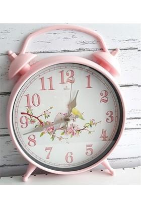 Foto Ebruli Dekoratif Tasarımlı Çalar Saat - Masa Tipi