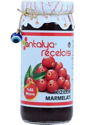 Antalya Reçelcisi Kızılcık Marmelatı 300 gr