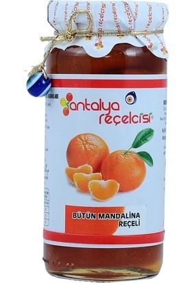Antalya Reçelcisi %65 Meyveli Bütün Mandalina Reçeli 300 gr
