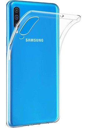 Redclick Samsung Galaxy A50 Kılıf Süper Silikon Arka Kapak Şeffaf