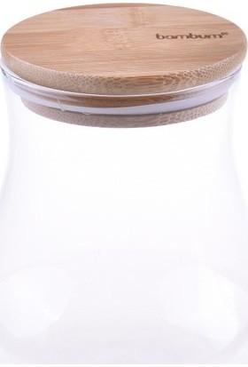 Bambum Ollara - Cam Saklama Kabı 12 cm