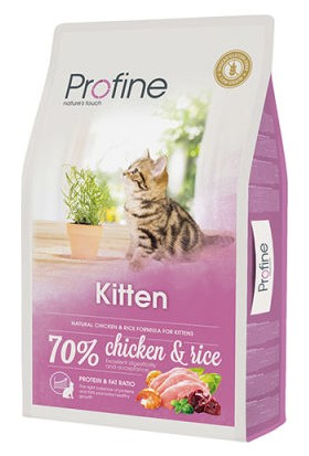 Profine Kitten Yavru Kedi Maması 10 kg + 5 Adet Plaisir Pouch 100 g