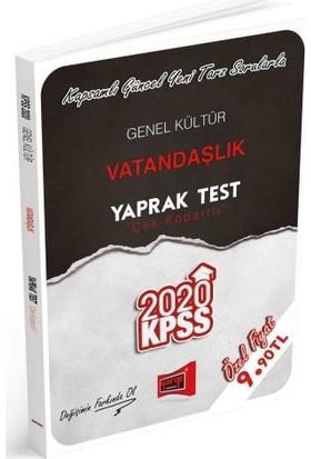 Yargı Yayınları 2020 KPSS Genel Kültür Vatandaşlık Çek Kopartlı Yaprak Test