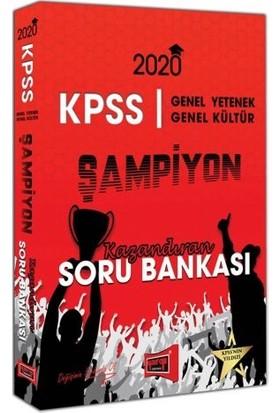 Yargı Yayınları 2020 KPSS Genel Yetenek Genel Kültür Şampiyon Kazandıran Soru Bankası