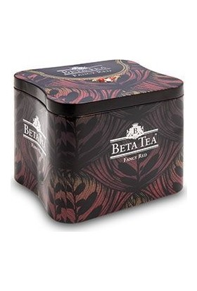 Beta Fancy Red Metal Ambalaj 150 gr(Seylan Çayı - Ceylon Tea)