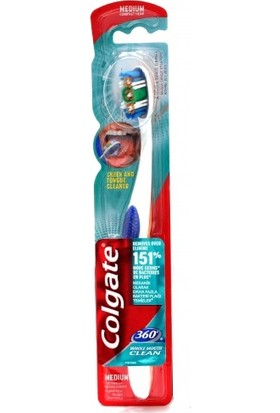 Colgate Diş Fırçası 360 Medium Whole Mouth Clean