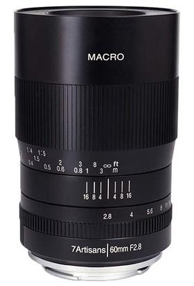 7ARTISANS 60MM F2.8 Macro Aps-C Lens Sony ( E-Mount)