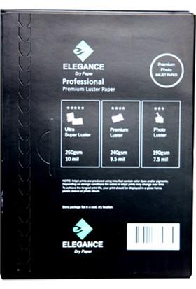 Elegance A4 (20X30CM) 260GR Premium Photo Inkjet Kağıt – Gloss (Parlak)