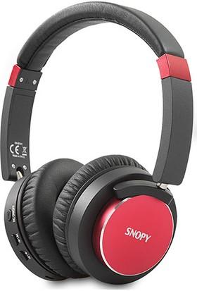 Snopy SN-BT41 Noise Cancelling Bluetooth Kulaklık - Kırmızı