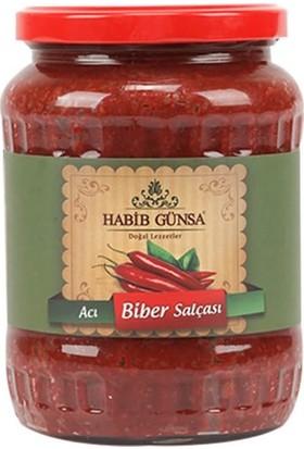 Habib Günsa Acı Biber Salçası 800 gr