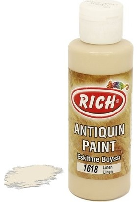 Rich Antiquin Eskitme Ahşap Boyası 130 ml 1618 Linen