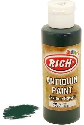 Rich Antiquin Eskitme Ahşap Boyası 130 ml 1610 Yeşil