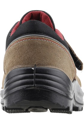 Gezer 1453 Çelik Burun Darbe Iş Güvenliği Erkek Ayakkabı Kum