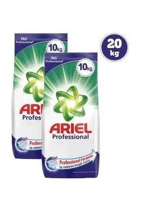 Ariel Toz Çamaşır Deterjanı 10 kg (Pg Professional) x 2 Adet