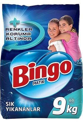 Bingo Matik Sık Yıkanan 9 kg