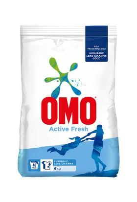 Omo Active Fresh Matik Toz Deterjan 6 kg Mükemmel Leke Çıkarma