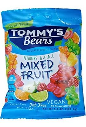 Tommy's Bears Glutensiz Meyve Aromalı Yumuşak Şekerleme 127 gr