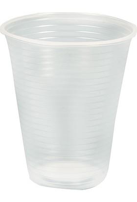 Plastik Bardak 100 Adet 180 Cc, Ekonomik Otomat Uyumlu Şeffaf Plastik Bardak, Faturalı Hızlı Teslimat