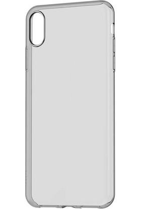 Zore Imax Apple iPhone X/XS Max Şeffaf Silikon Kılıf